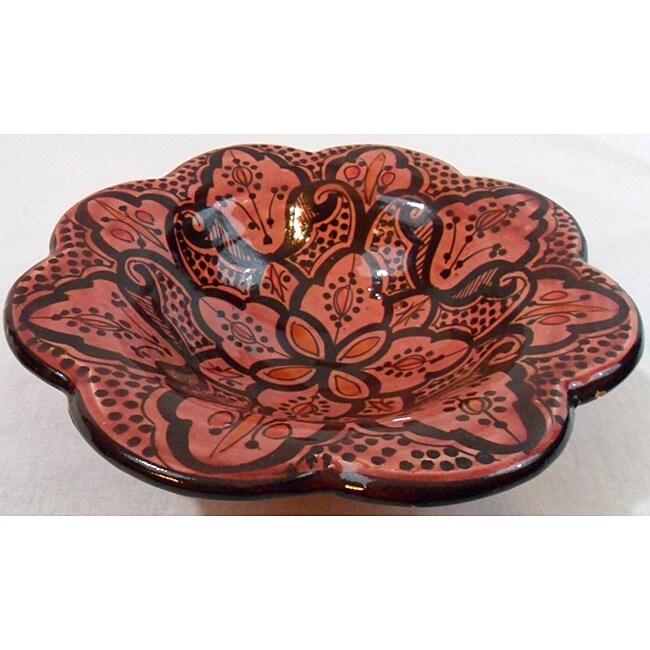 Handmade Copy of Cafe Amira Ceramic Bowl (Morocco)