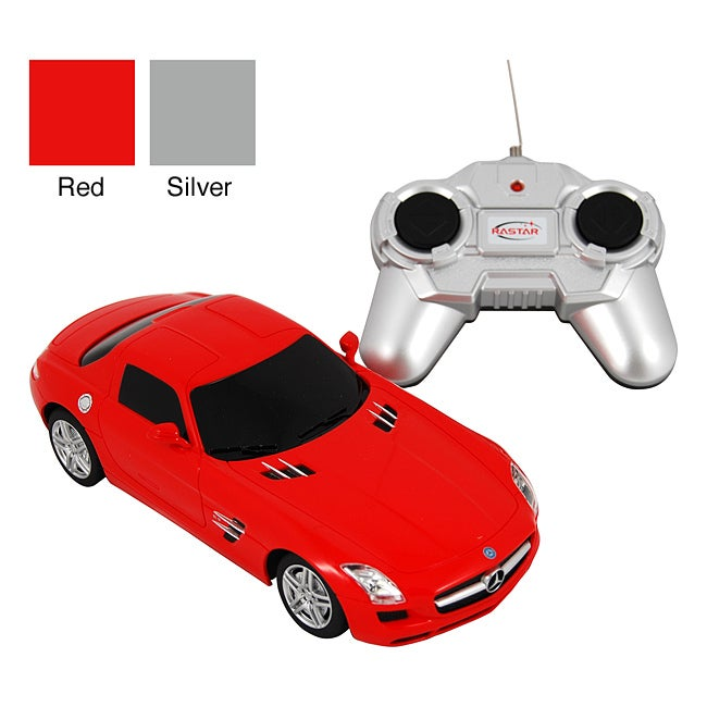 Premium 290-MBR Remote Control Red Plastic Mercedes-Benz SLR McLaren