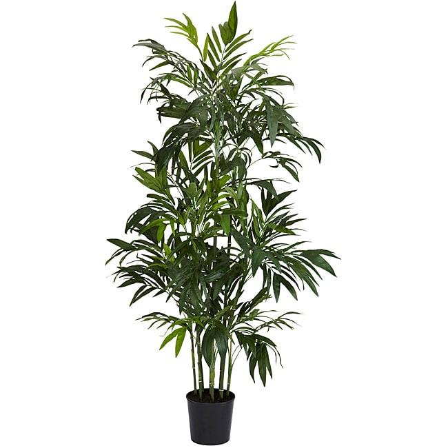 6 ft Bamboo Palm Silk Tree