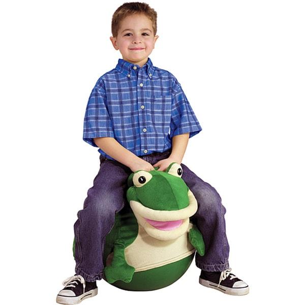 Hedstrom Frog Plush Hop
