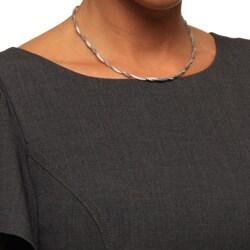 La Preciosa Sterling Silver Winding Bead Necklace