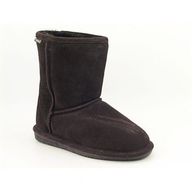 Bearpaw Girl's 'Emma' Brown Boots Snow