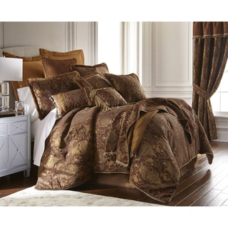 Sherry Kline China Art Brown Cal King-size 6-piece Comforter Set