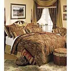 Sherry Kline China Art Brown Cal King-size 6-piece Comforter Set