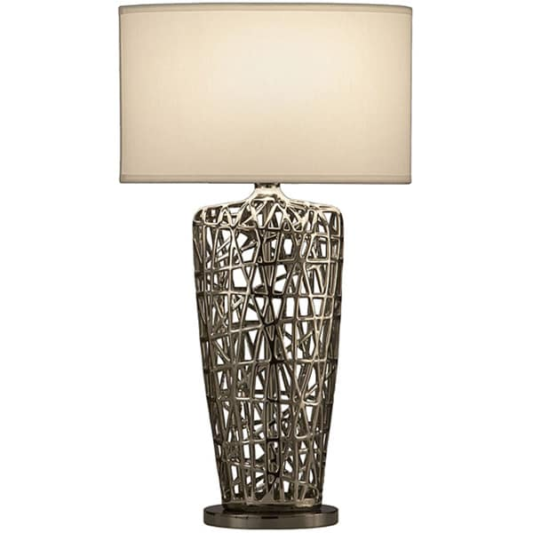 """Nova Lighting """"Bird's Nest Heart"""" Table Lamp"""