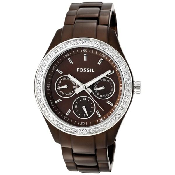 Fossil Women's 'Stella Boyfriend' Aluminum Multifunction Watch