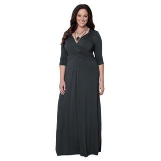 Kiyonna Women's Plus Size Desert Rain Maxi Dress