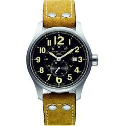 Hamilton Men's H70655733 Khaki Field Officer Automatic Small Second Silvertone Watch