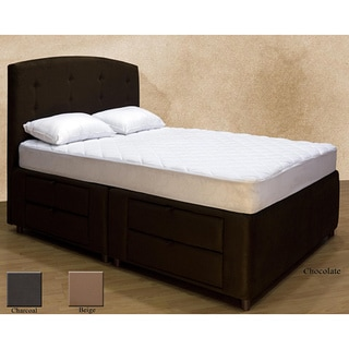 Tiffany 8-drawer Storage Queen-size Bed