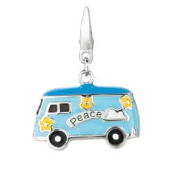 Sterling Silver Flower Power Bus Charm|https://ak1.ostkcdn.com/images/products/6354767/78/333/Sterling-Silver-Flower-Power-Bus-Charm-P13974578.jpg?impolicy=medium