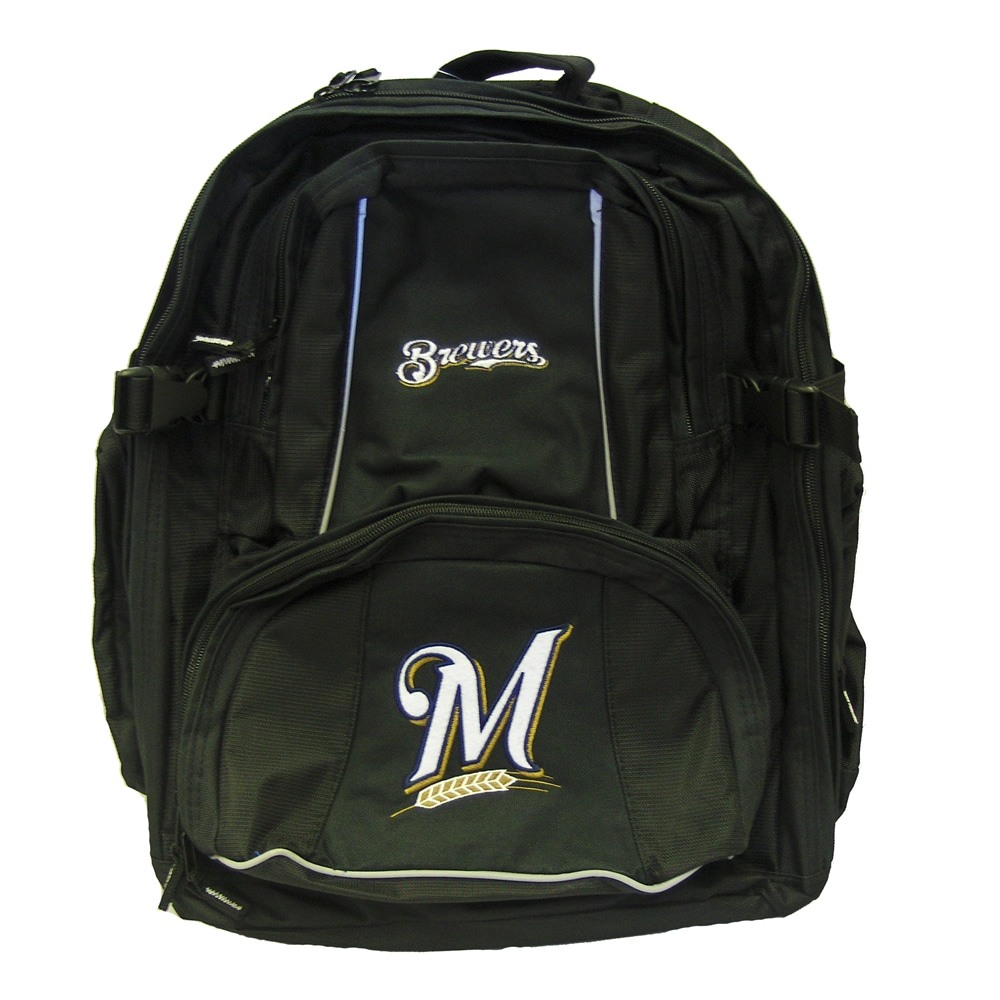 Milwaukee Brewers 18-inch Deluxe Backpack - Thumbnail 0