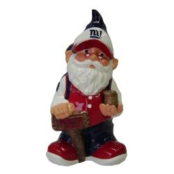 Forever Collectibles New York Giants 11-inch Gnome Bank - Thumbnail 0