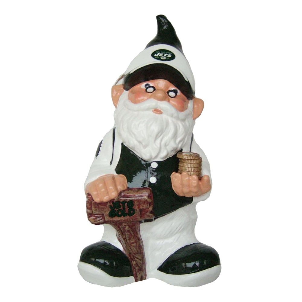 New York Jets 11-inch Gnome Bank