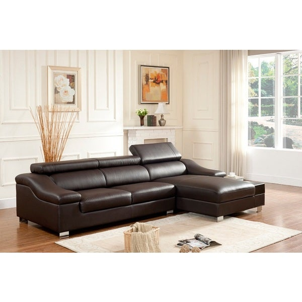 Alice 2-piece Sectional with Adjustable Pillow