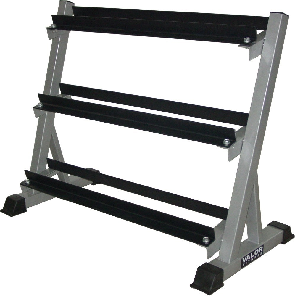 Valor Fitness 3 Tier Dumbbell Rack Free Shipping Today