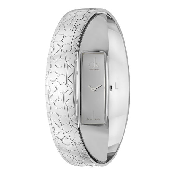 Elegant Calvin Klein Women's 'Element' Stainless-Steel Quartz Watch
