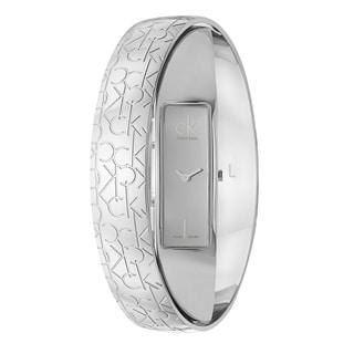 Elegant Calvin Klein Women's 'Element' Stainless-Steel Quartz Watch