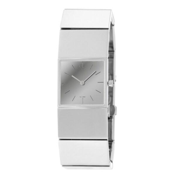 Calvin Klein Women's 'Sleet' Stainless Steel Quartz Watch