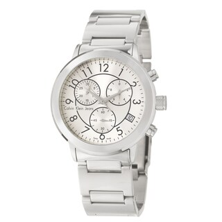 Calvin Klein Jeans Men's 'Continual' Stainless Steel Chronograph Quartz Watch
