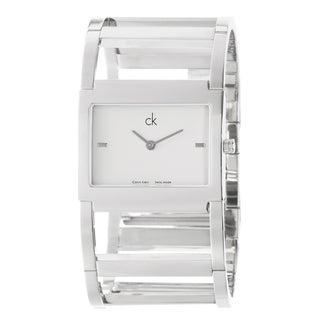 Calvin Klein Women's 'Dress' Stainless Steel Quartz Watch