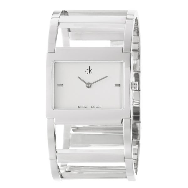 Calvin Klein Women's 'Dress' Stainless Steel Quartz Watch