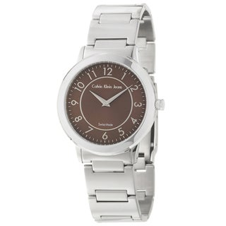 Calvin Klein Jeans Women's 'Continual' Stainless Steel Quartz Watch