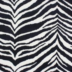 Zebra Black-charcoal Holiday Stocking - Thumbnail 1