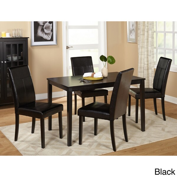 simple living furniture. simple living bettega parson 5piece dining set free shipping today overstockcom 13975372 furniture