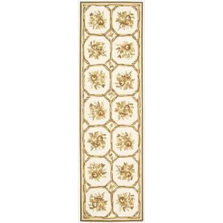 Nourison Hand Hooked Country Heritage Ivory Rug ( 2'3 x 8'0 )