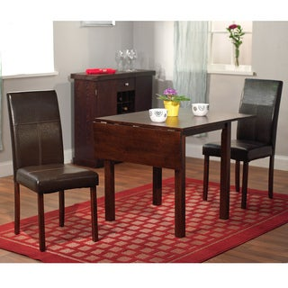 Porch & Den Third Ward Scott Drop Leaf 3-piece Dining Set