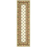 Nourison Hand Hooked Ivory Country Heritage Rug - 2'3 x 8'
