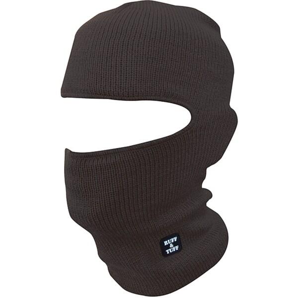 Quiet Wear Men's Black Ruff & Tuff Mask