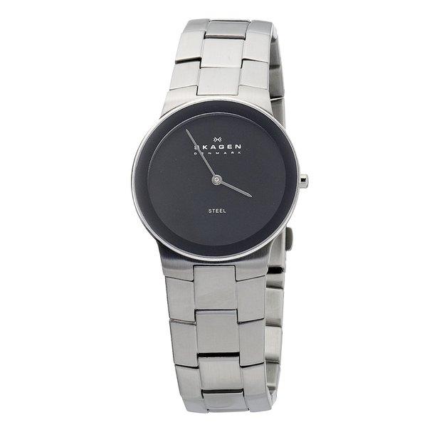 Skagen Men's Black Face Bracelet Watch