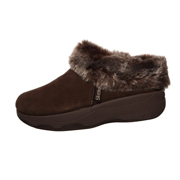 Spindrift' Tone-ups Suede Clogs