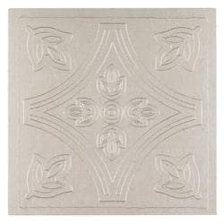 Metallo Wall Silver 4x4 Self Adhesive Vinyl Wall Tile - 27 Tiles/3 sq Ft.