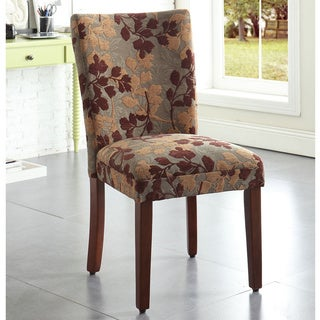 Link to HomePop Classic Sage Leaf Pattern Fabric Dining Chair - N/A Similar Items in Dining Room & Bar Furniture