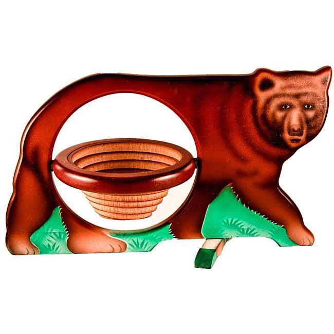 Collapsible Bear Basket - Thumbnail 0