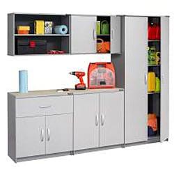 Black & Decker Garage and Workshop 2-door Storage Cabinet - Thumbnail 2