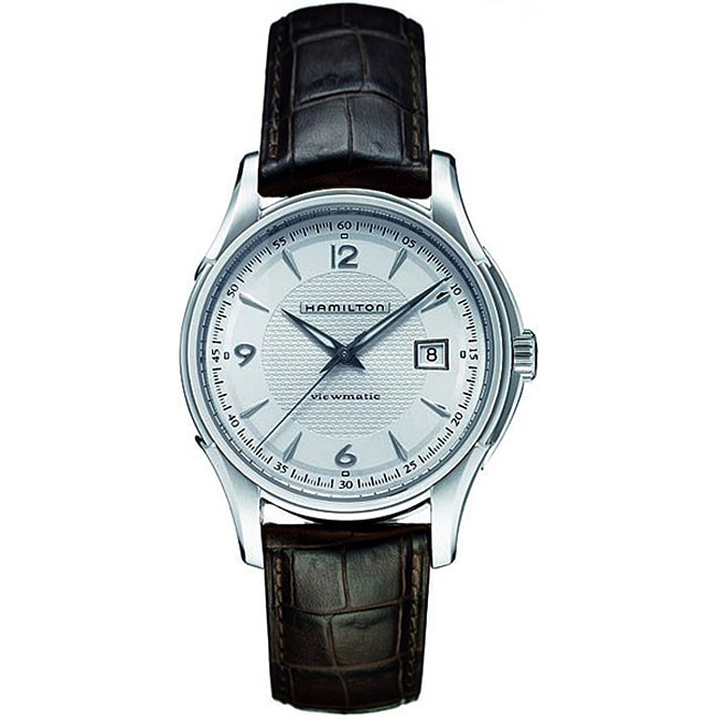 Hamilton Men's Jazzmaster Silver Dial Watch