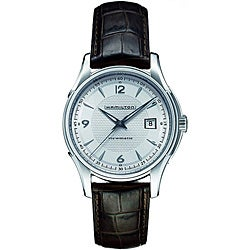 Thumbnail 1, Hamilton Men's Jazzmaster Silver Dial Watch.