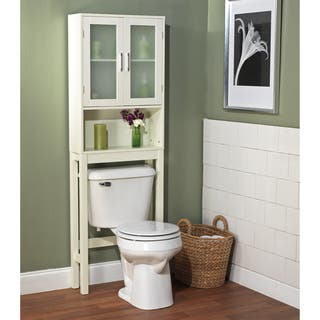 bathroom storage. Simple Living Frosted Pane Space Saver Bathroom Cabinets  Storage For Less Overstock com