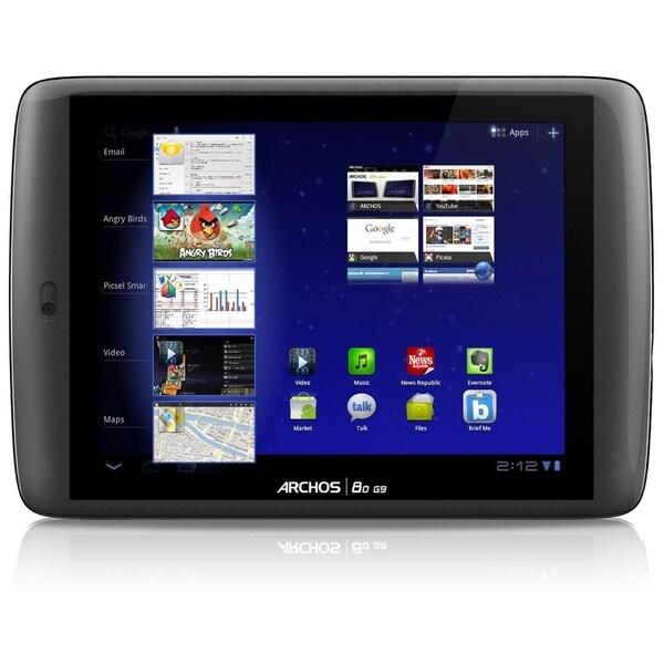 "Archos 80 G9 501895 16 GB Tablet - 8"" - Wireless LAN - Texas Instrume"