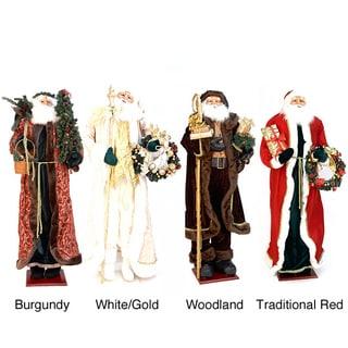 60 inch Decorative Plush Christmas Santa Claus