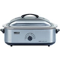 Nesco 4818-25-20, 18-Quart Stainless Steel Roaster Oven