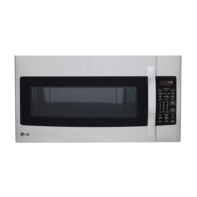 Lg Over The Range 1 7 Cu Ft 950 1500 Watt Microwave Oven