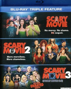 Scary Movie Triple Feature (Blu-ray Disc)