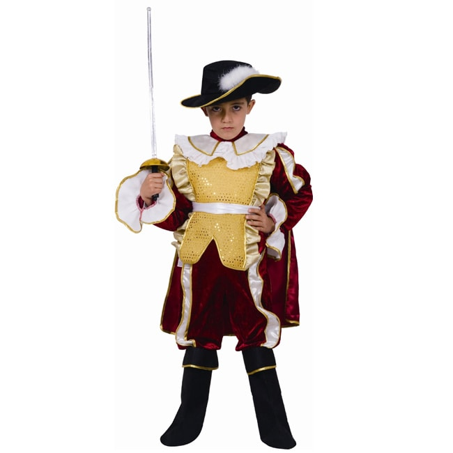 Dress Up America Boy's Nobel Knight Costume - Thumbnail 0