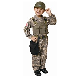 Dress Up America Boy's Solider Navy SEAL Army Special Forces Costume (2 options available)