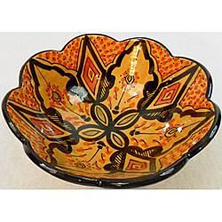 Cafe Nada Ceramic Marigold Bowl (Morocco)