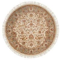 Hand-knotted Gene Wool Area Rug (8' Round)